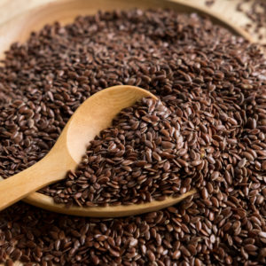 brown flax seed