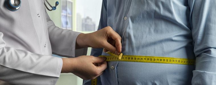 measuring waistline