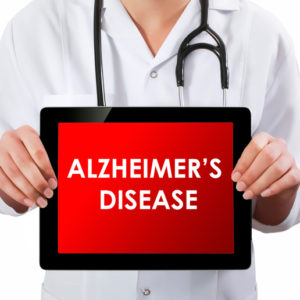 tablet screen Alzheimers disease