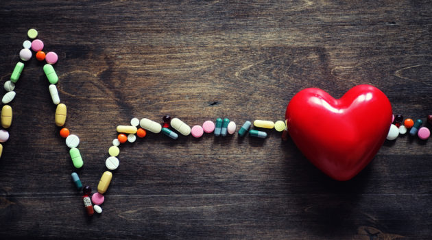 pills and heart