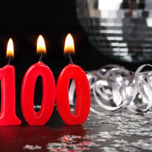 100 candle