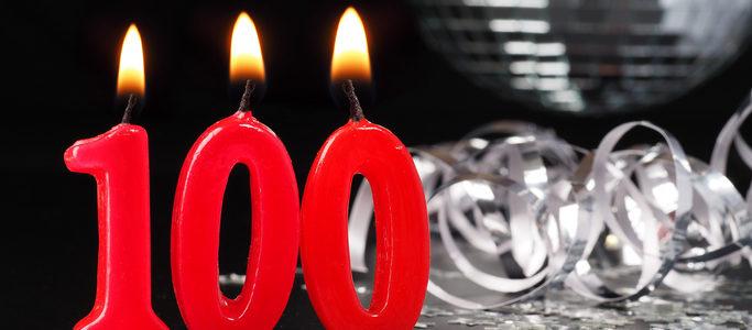 100 candle